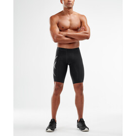 2XU Compression Short Homme, black/silver